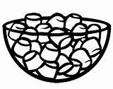 Coloring Marshmallow Marshmallows Credit Larger Coloringkidz sketch template
