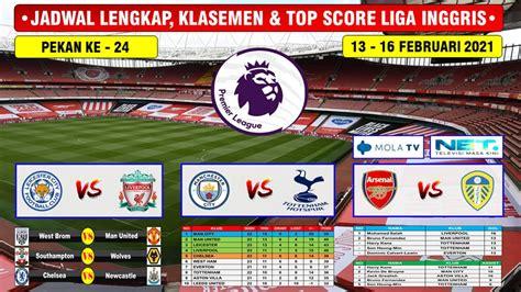 Jadwal Liverpool Vs Manchester City Live Tv