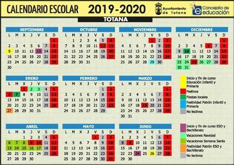 calendario abril region de murcia