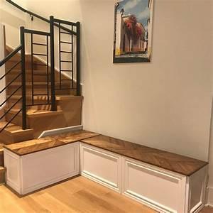 Corner, Bench, Kitchen, Seating, L, Shaped, Bench, Free