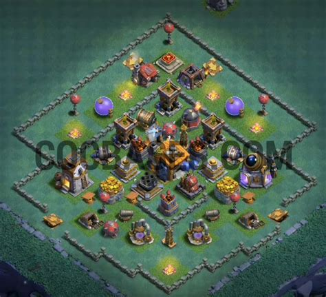 top   builder hall  base layout  anti