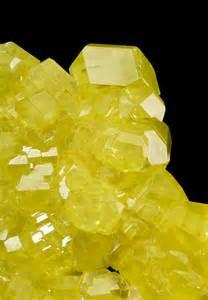 Sulfur Mineral Crystal
