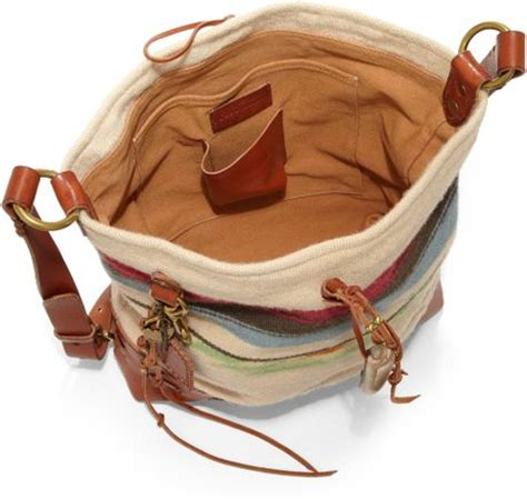 556944281879 460 x 436 lyst.com. Ralph Lauren Collection Leathertrimmed Woven Blanket  Hobo .
