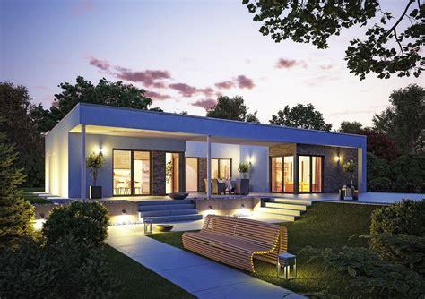 zweites haus auf eigenem grundstück bauen zukunftssicheres haus wohnen auf einer ebene der moderne bungalow okal mediacenter