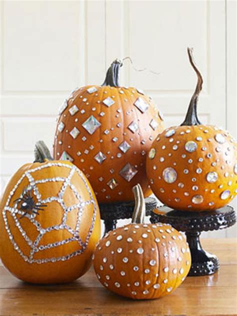 decorated pumpkins pumpkin decorating ideas without all the carving