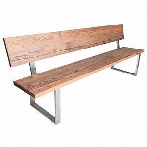 Sitzbank Holz Mit Lehne : sitzbank mit lehne aus holz f r alte esstische ~ Buech-reservation.com Haus und Dekorationen