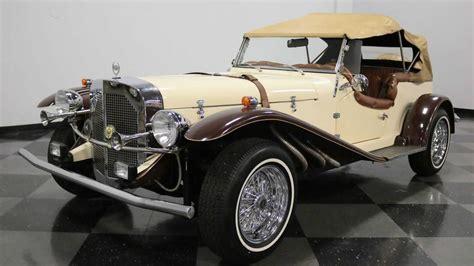 Word limit prohibits 1987 cmc gazelle mercedes ssk replica only 248 miles white exterior / red interior chevrolet chevette drivetrain cmc car number: 1929 Mercedes-Benz SSK Replica Serves Up Fun | Motorious