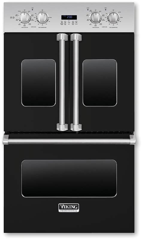 viking vdofbk   double electric french door oven   cu ft vari speed dual flow