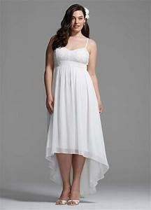 Plus Size Short Wedding Dress With Spaghetti Straps