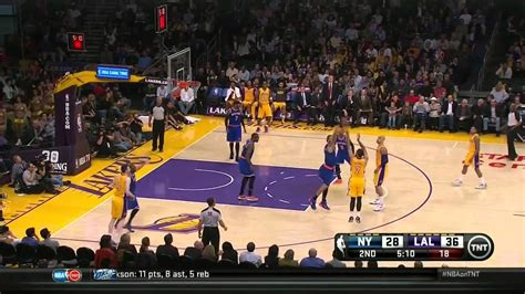 knicks  lakers full highlights youtube
