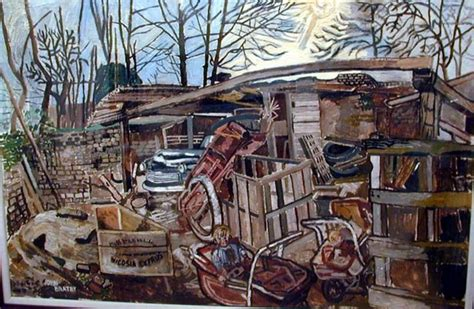 bratby kitchen sink bratby scrapyard painting and drawing 4904