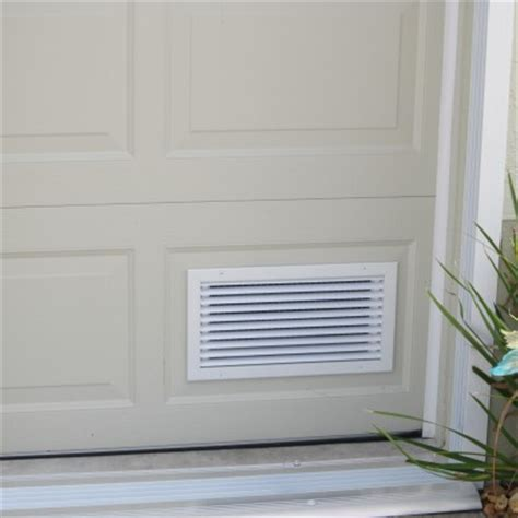 aluminum air intake vent cool  garage