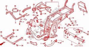 Frame  Ch125e  For Honda Ch 125 Spacy 1984   Honda