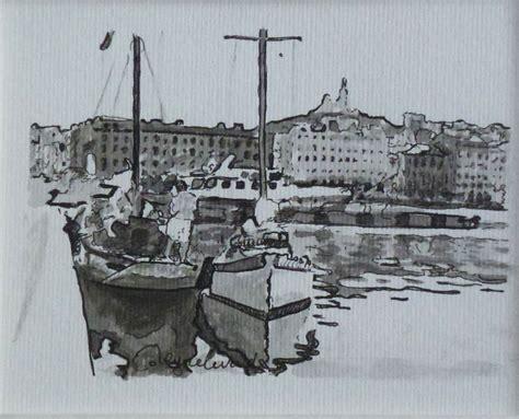 Dessin Bateau Au Port by Marseille Voiliers 224 Quai Au Vieux Port Dessins