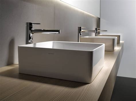 Modern Bathroom Sinks by A More Modern Bathroom Trough Sink Http Sinks