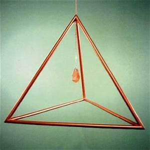 Sacred Geometry Forms - Tetrahedron