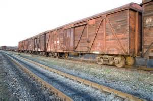 rusty train old rusty train wagons on railway stock photo colourbox