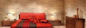 Mur En Bois Intérieur Decoratif : rev tement mural 3d panneaux pierre brique design b ton bois ~ Teatrodelosmanantiales.com Idées de Décoration