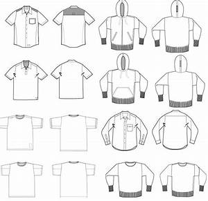 ultimate vector t shirt template pack vectorization With sweatshirt template illustrator