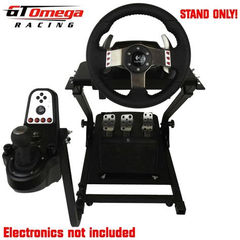 Logitech Volante G27 by Gt Omega Steering Wheel Stand For Logitech G25 G27 Racing