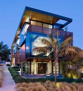 Exceptional, Glass, U0026, Wood, Home, In, Los, Angeles, California, Fresh, Palace
