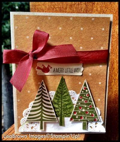 stampin  video tutorial christmas card idea  cards