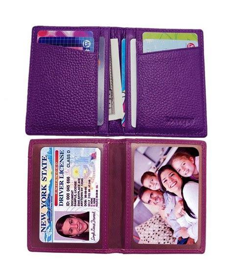Front pocket money clip credit card. Slim RFID Front Pocket Leather Wallet 10 ID / Credit Card Holder Money Clip Wallet - Purple ...