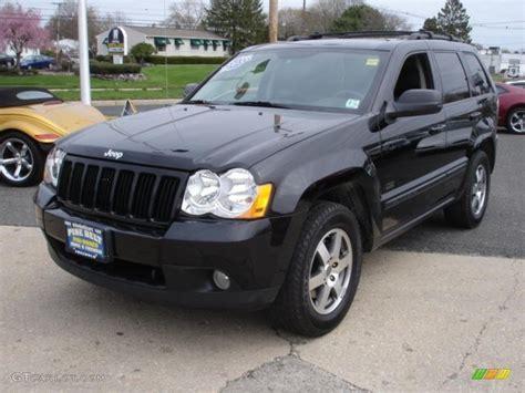 jeep laredo 2008 2008 black jeep grand cherokee laredo 4x4 48099622
