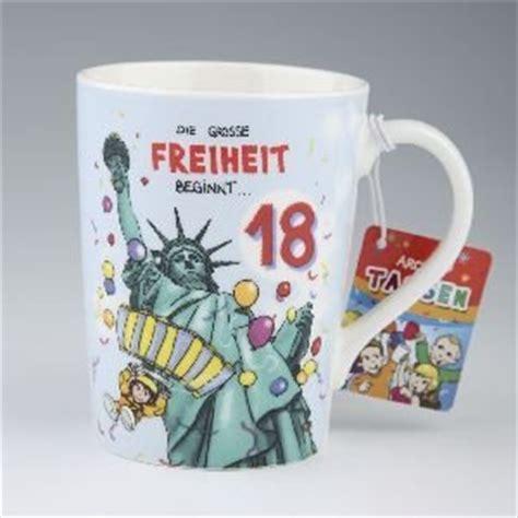 geschenkideen zum 18 geburtstag für jungs lustige tasse als geschenke archies becher zum 18 geburtstag 003 de k 252 che haushalt
