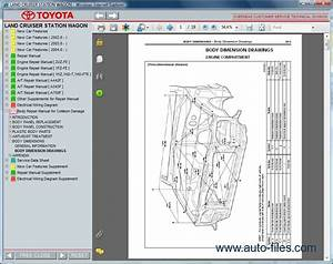 Toyota Land Cruiser Station Wagon  Repair Manuals Download
