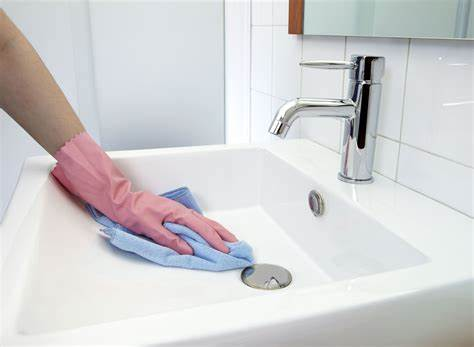 Landscapers Tool Washed In The Bathing Room how to remove rust stains from toilets tubs, and sinks