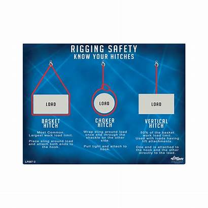 Safety Rigging Poster Hitches Know Osha Crane