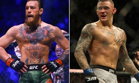 conor mcgregor challenges dustin poirier  charity fight