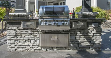 unilock outdoor kitchens patio design tips integrating an outdoor kitchen into