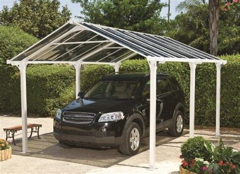 Easy Fit Apex Roof Freestanding Carports