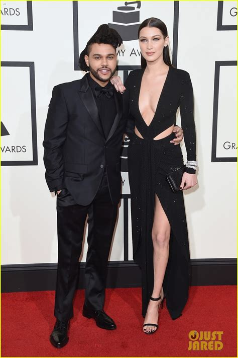 Who has the weeknd dated? The Weeknd & Girlfriend Bella Hadid Hit Grammys 2016 Red ...