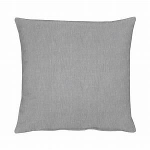 Sofa Kissenbezüge 40x60 : kissen torino grau 48 x 48 cm apelt kissenjunkie ~ Watch28wear.com Haus und Dekorationen