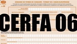 Avoir Son Permis Du Premier Coup : cerfa06 comment obtenir ou renouveler un permis de conduire depuis septembre 2013 ~ Medecine-chirurgie-esthetiques.com Avis de Voitures