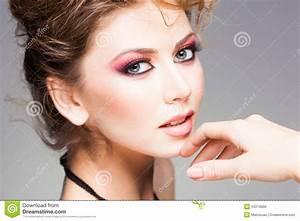Beauty Shot Of Beautiful Blonde Woman Wearing Professional ...