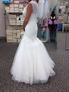 show off your bustle for lace tulle ballgown weddingbee With bustle tulle wedding dress