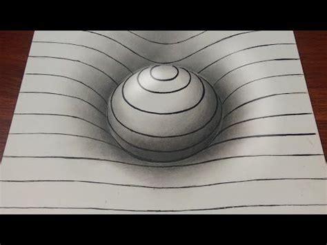 drawing easy  sphere  lines illusion drawings  art drawing  drawings