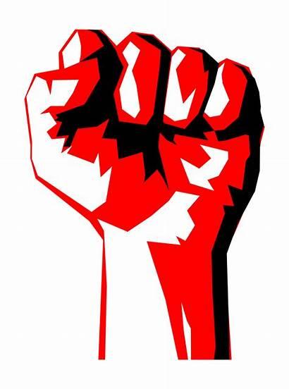 Fist Clipart Revolution Money Worker Clip Marxist