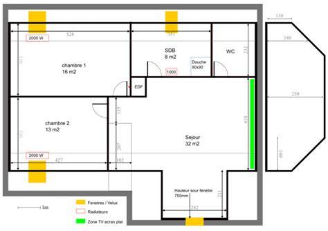 puissance radiateur chambre installer radiateur electrique top evaluer ses besoins