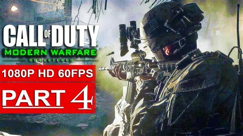 Call Of Duty Modern Warfare Remastered Gameplay