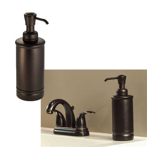 bathroom soap lotion dispenser sink accessories