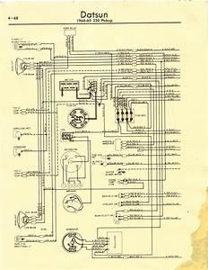 Datsun 320 Truck Wiring Diagram - 320