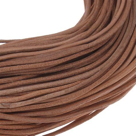 lederband mm sand braun lederschnur leder schmuck