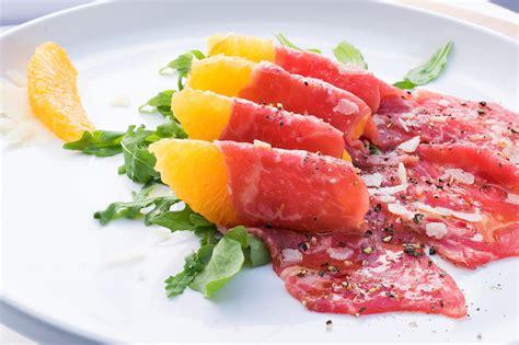 cuisine recipes how to serve carpaccio