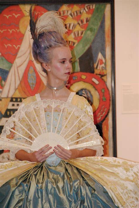 rococo    contrast fashion show vassar