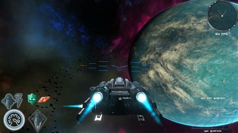 Space life, asteroid field base scouting image - Antarix ...